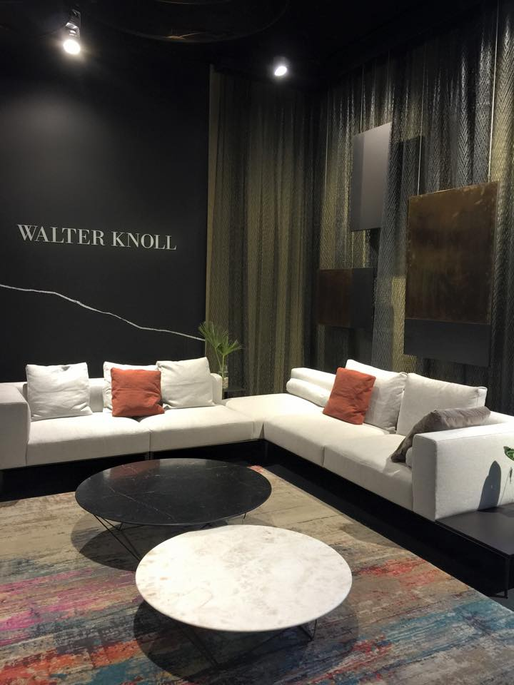 SALON WALTER KNOLL ; SALON DU MEUBLE DE MILAN 2015